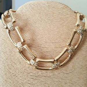 Jeweled Choker Necklace